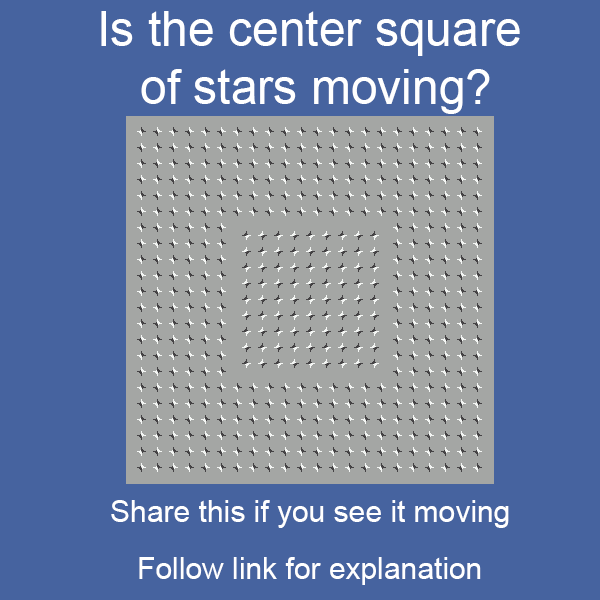 Is it moving or not