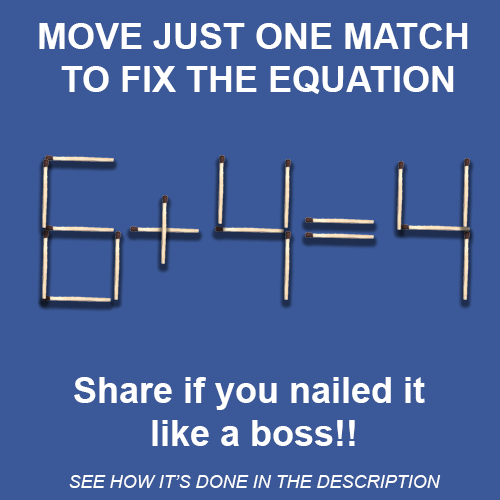 Fix the equation