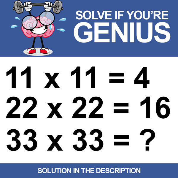 Solve if you're a genius