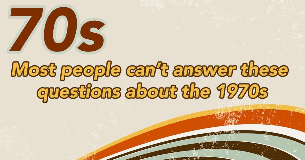 70s quiz