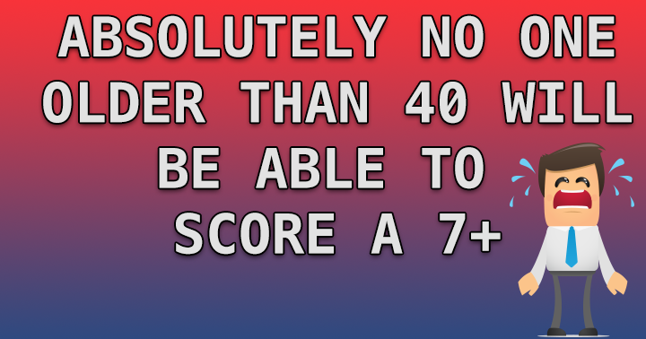Can you score a 6 or better?