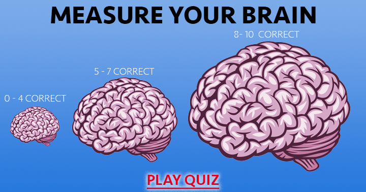 Measure your brain