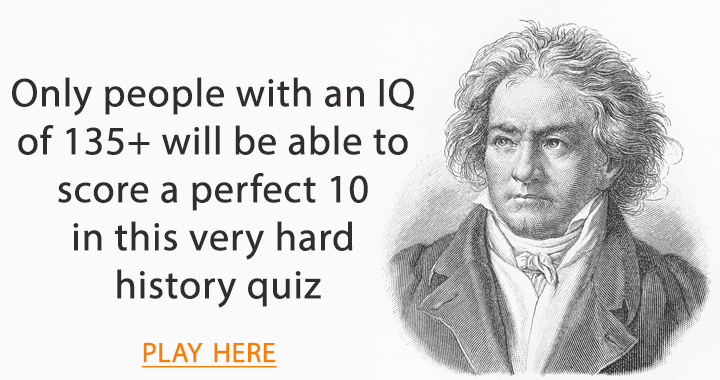 Is your IQ above 135?