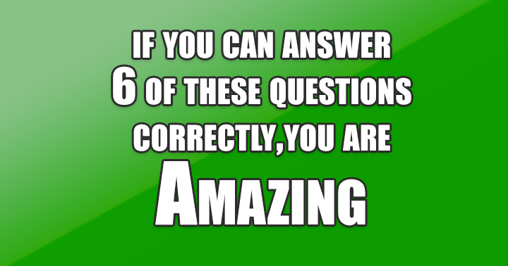 Amazing trivia quiz you will love