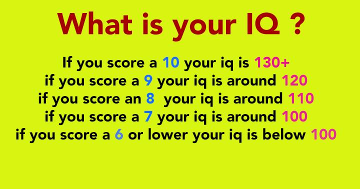 Trivia IQ Test