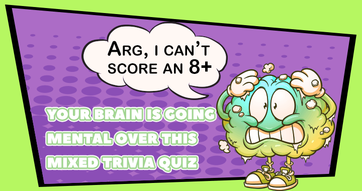 Is your brain smart enough to score an 8+?