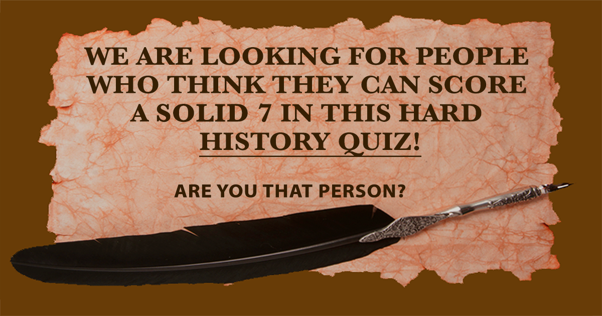 Challenging History Trivia