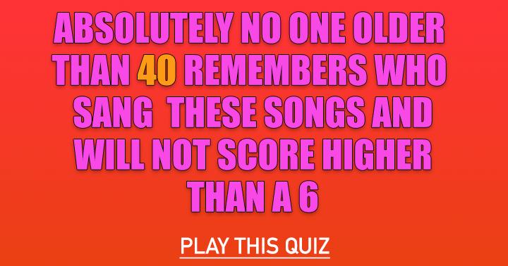 Pop Music Quiz