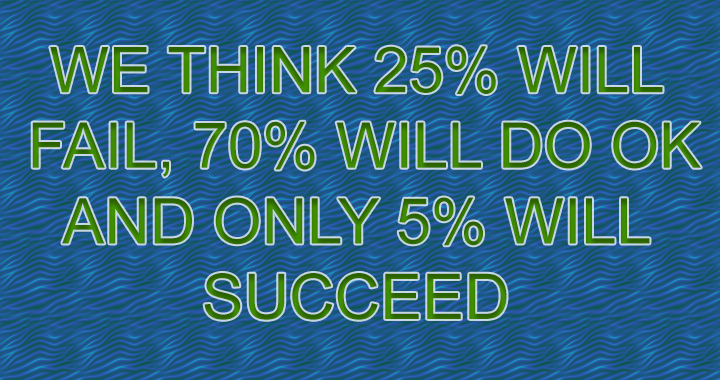 Make sure you won't belong to the 25%!