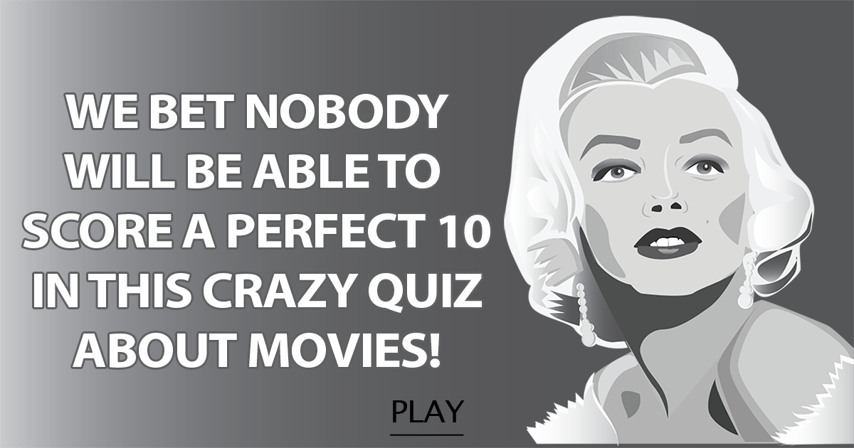 Crazy quiz about movies!