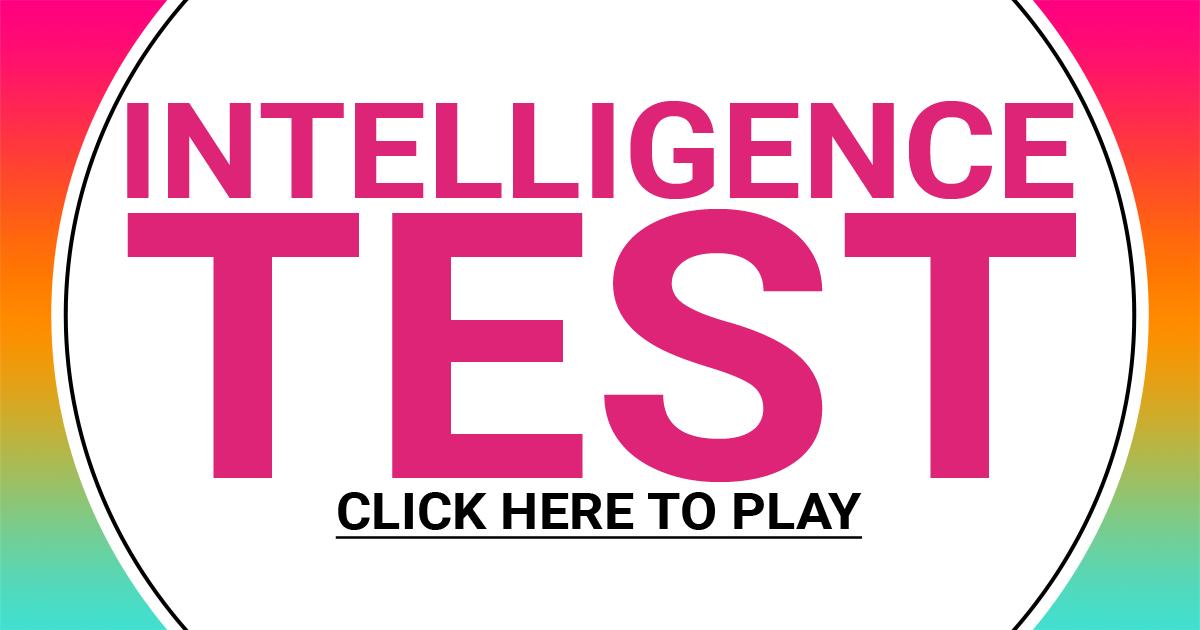 Hard Intelligence Test