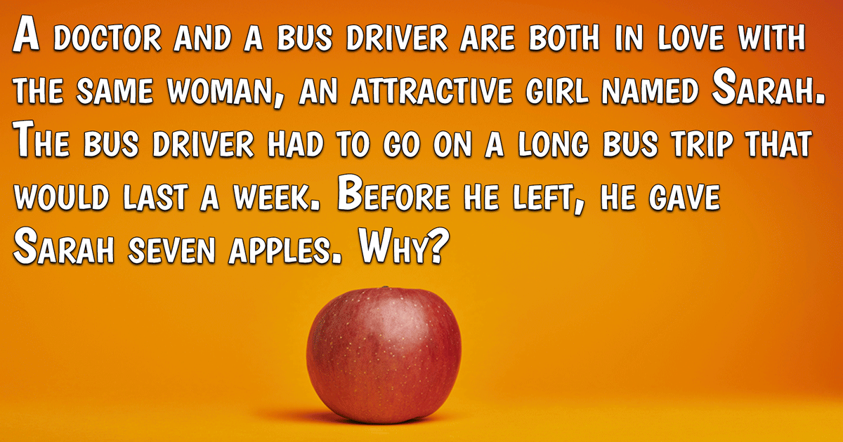 If you know the answer to this riddle, please enter the quiz!