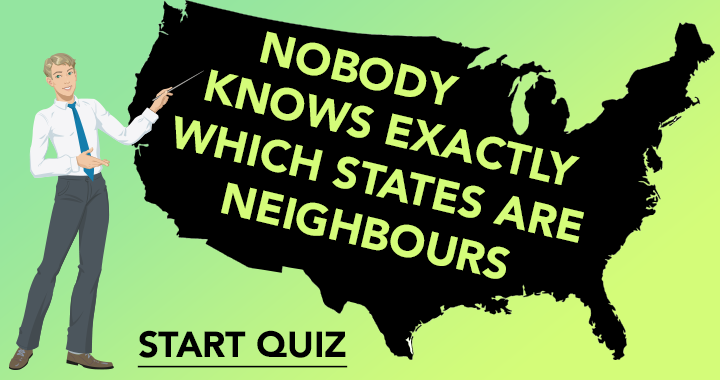 Nobody knows exactly which U.S. states are neighbours