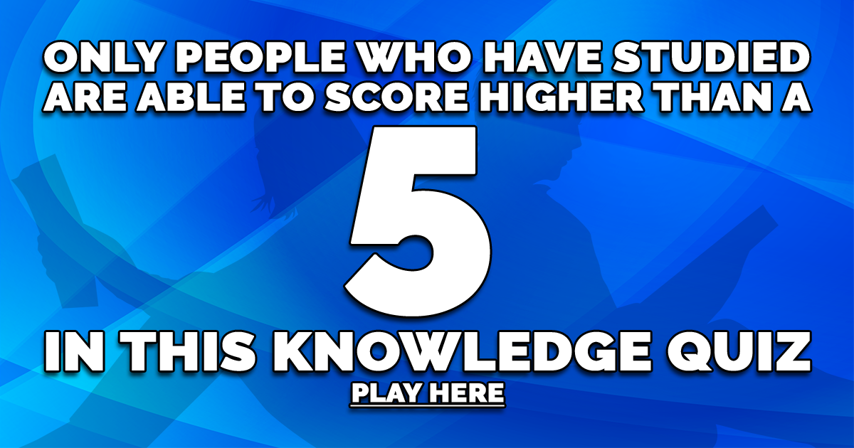 Play This Knowledge Quiz Now