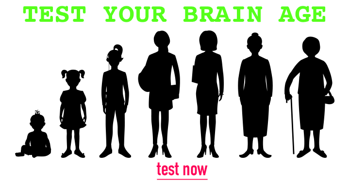 Test your brains age