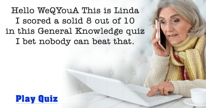 Can you beat the score of Linda?