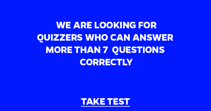 Are you what we are looking for?