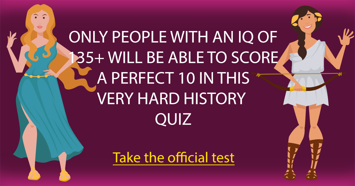 Very Hard History Quiz