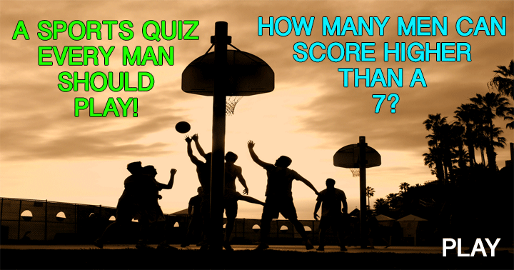 This is a quiz for our male followers!