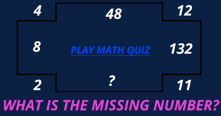 Do you know the missing number?