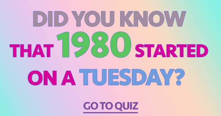 You think you know more about the year 1980? This is the quiz to prove it!