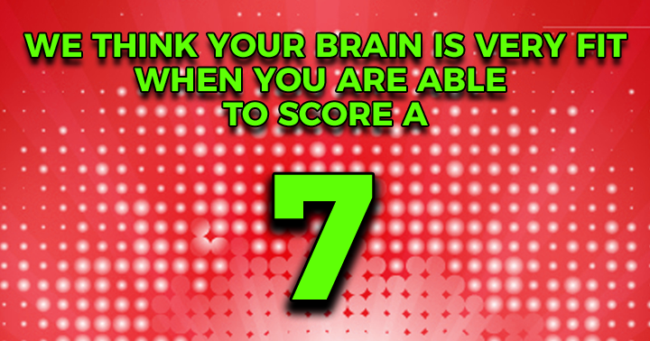 Only share your score when you are proud!