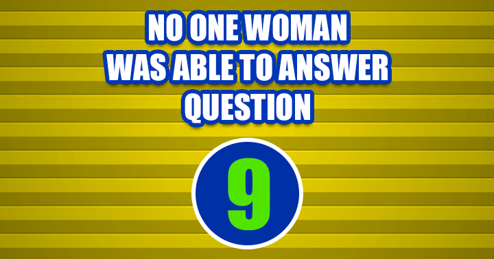 Do you know the answer to question 9?