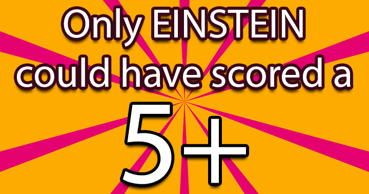 Are you as smart as Einstein?