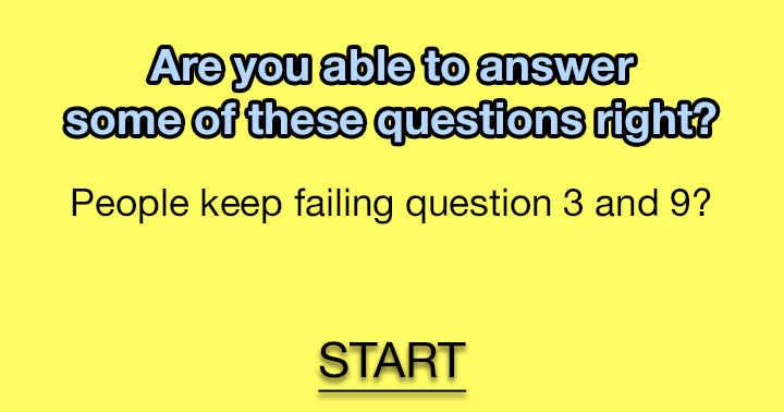 Are you able to answer question 3 and 9?