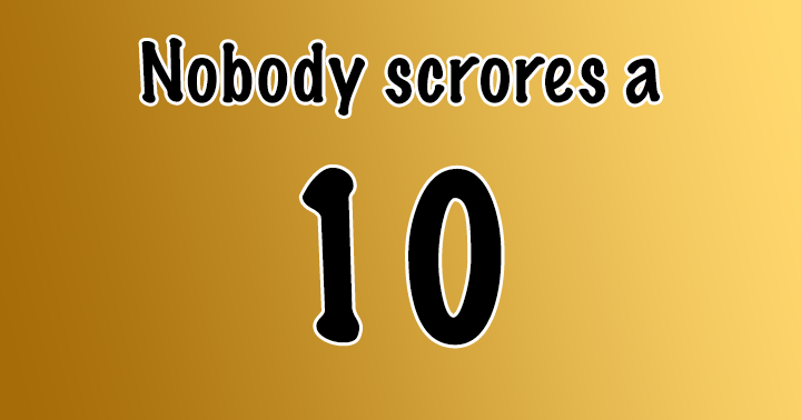 Nobody means nobody!