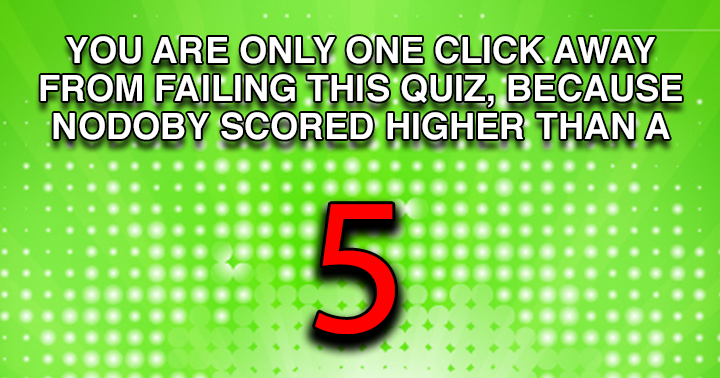 Only one click away from failing another quiz