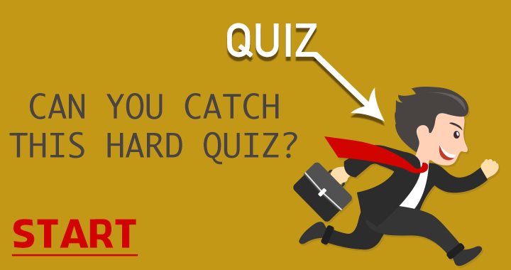Are you able to catch this quiz?