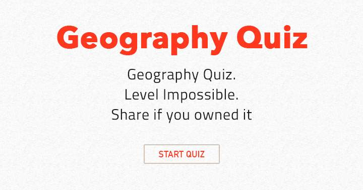 Take this impossible science quiz and share if you owned it!