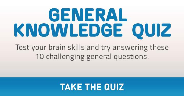 Test the skills of your brain in this very hard mixed knowledge quiz