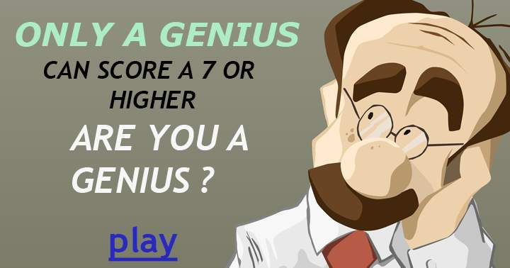 You think you're a genius? Then try this impossible quiz