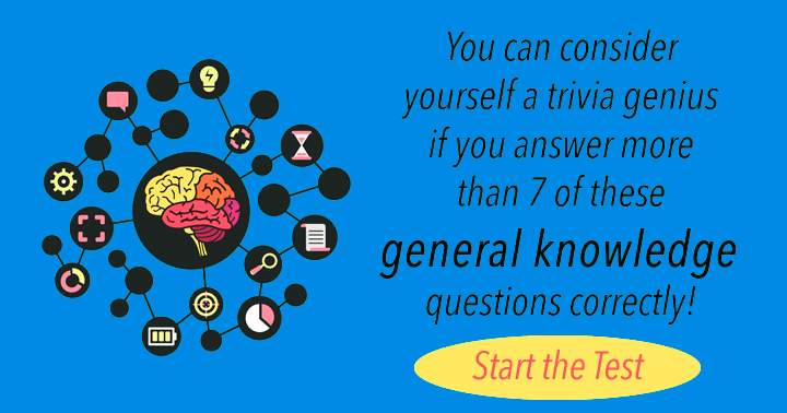 Are you a trivia genius?