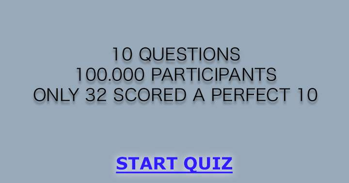 10 impossible questions, can you answer them correctly?