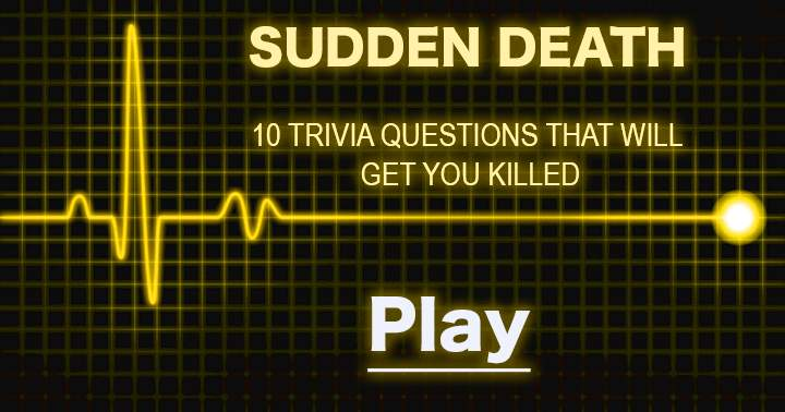 Play at your own risk, this quiz is bad for your health.