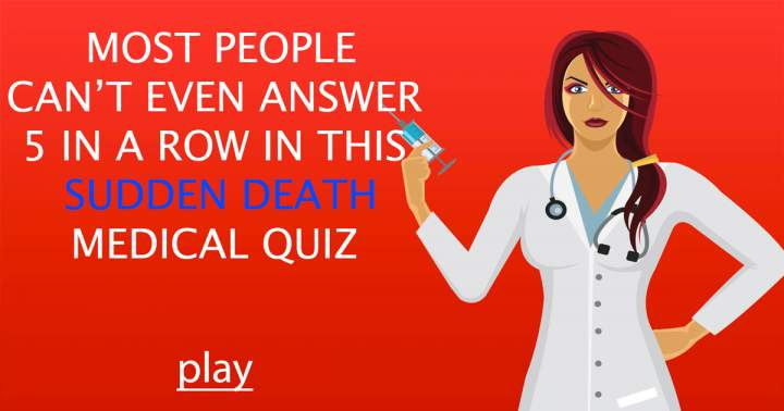 Medical Sudden Death Quiz